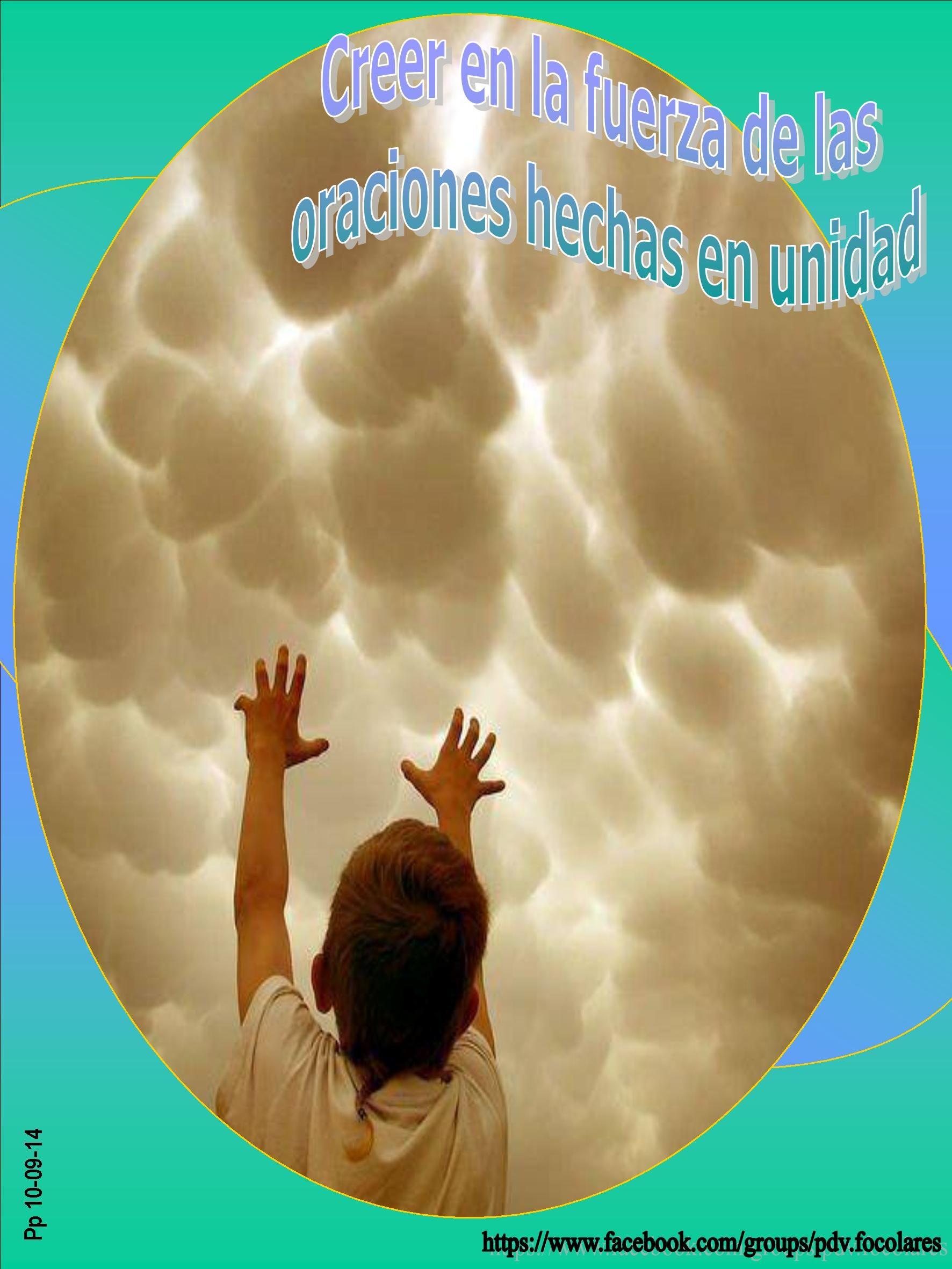 #Pasapalabra 10-09-14 * Creer en la fuerza de las oraciones hechas en unidad*