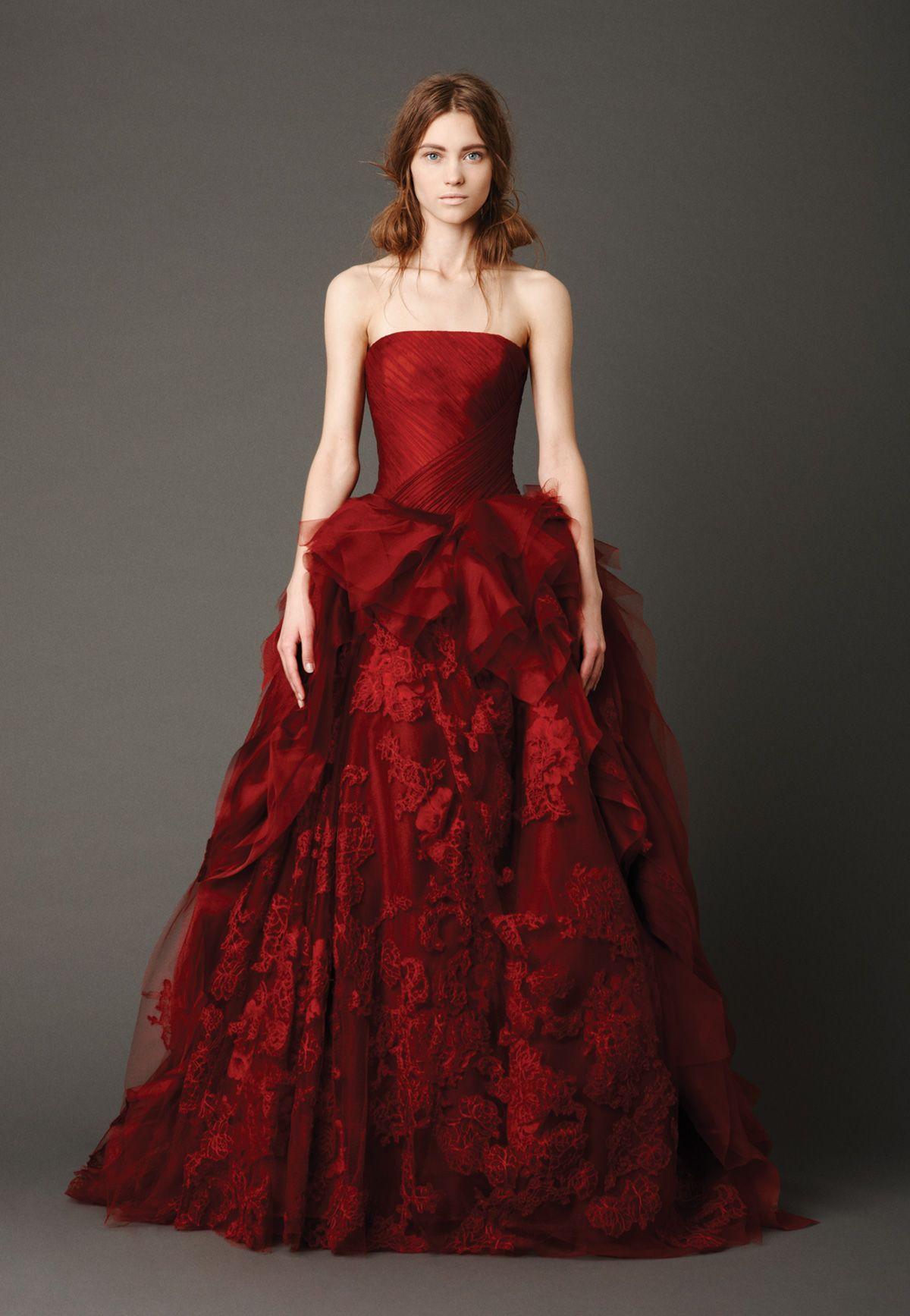 Inspirational Wedding Dresses In Color
