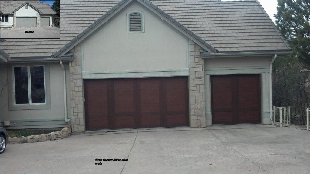 Here Is A Another Home Transformed By A New Garage Door Check Out