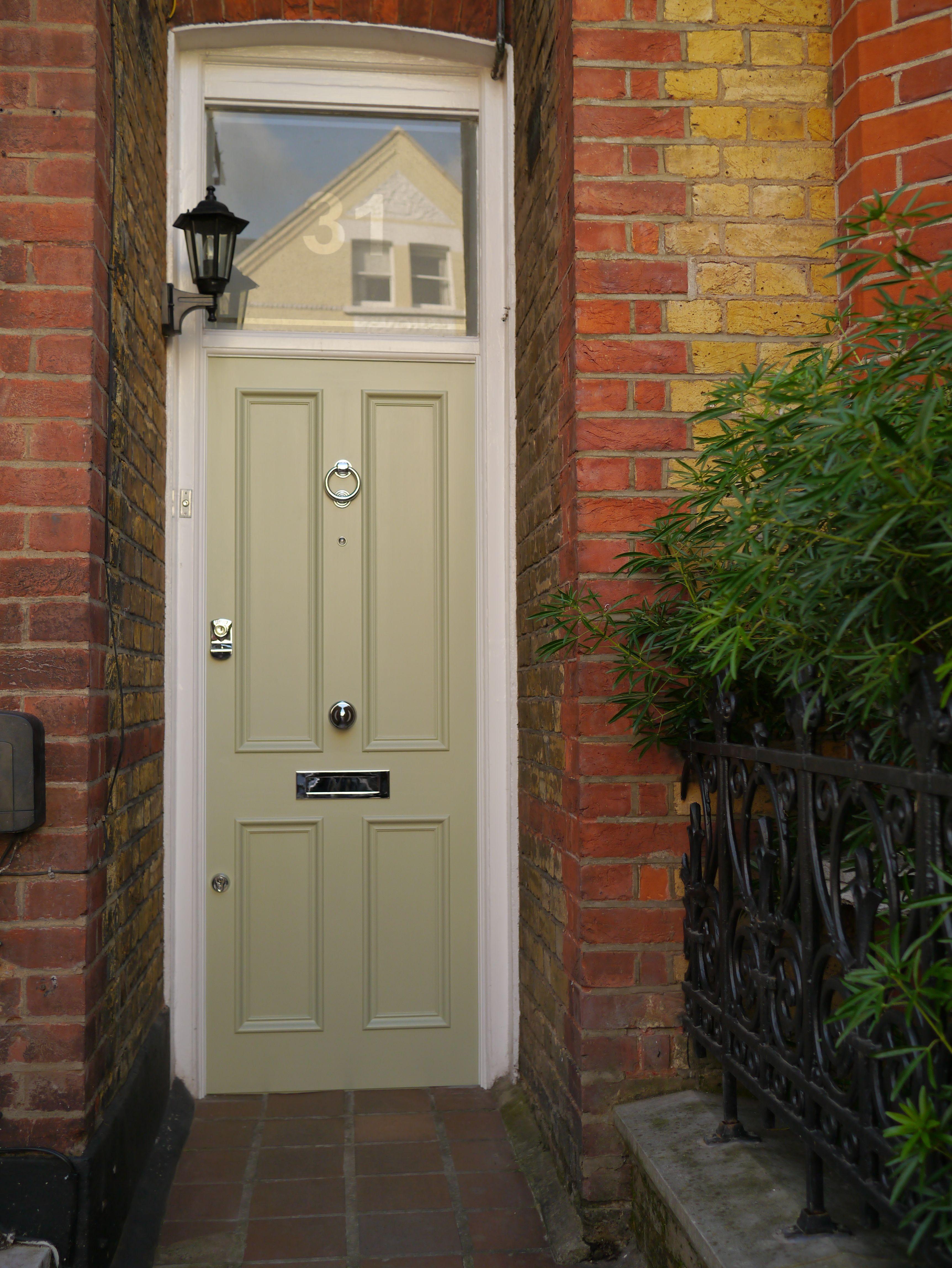 The London Door Company Clapham - Farrow and Ball, Vert de Tere ...