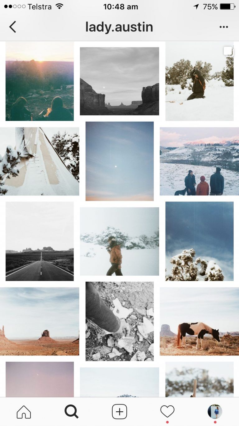7 Instagram Grid Layouts with examples you can try for
