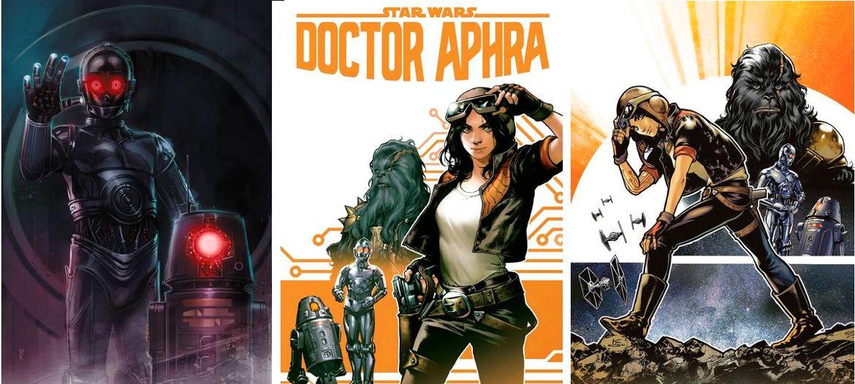 New Star Wars Doctor Aphra  comic series