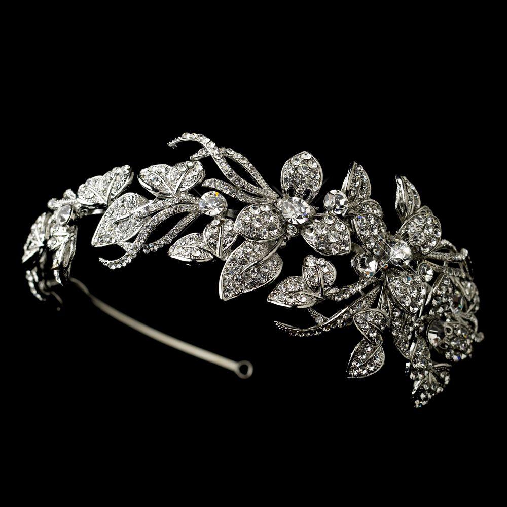Surprisingly decent looking contemporary bridal headband.