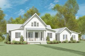 Plan 130025LLS: Exclusive Modern Farmhouse Plan with ...