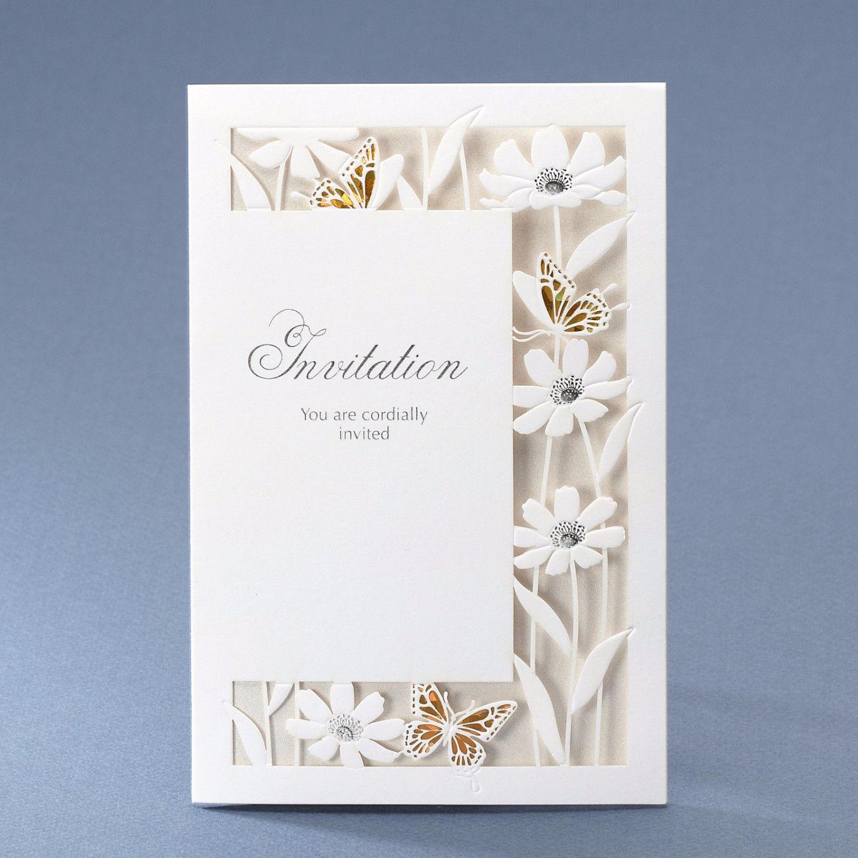 Laser Cut Butterfly Wedding Invitations – CCL 8012 | ItsInvitation ...