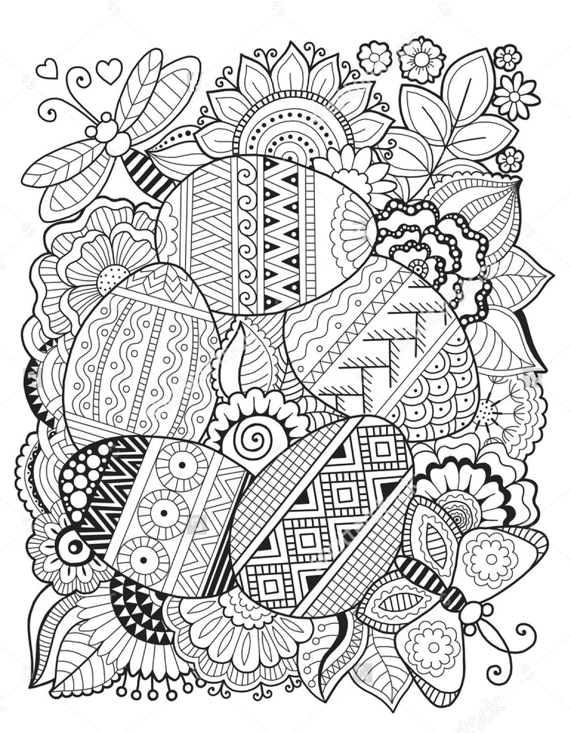 Pin By Fleur Smit On Easter Spring Coloring Pages Easter Coloring Pages Printable Easter Egg Coloring Pages
