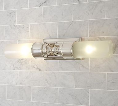 Sussex Double Tube Sconce For The Home Bathroom Sconce