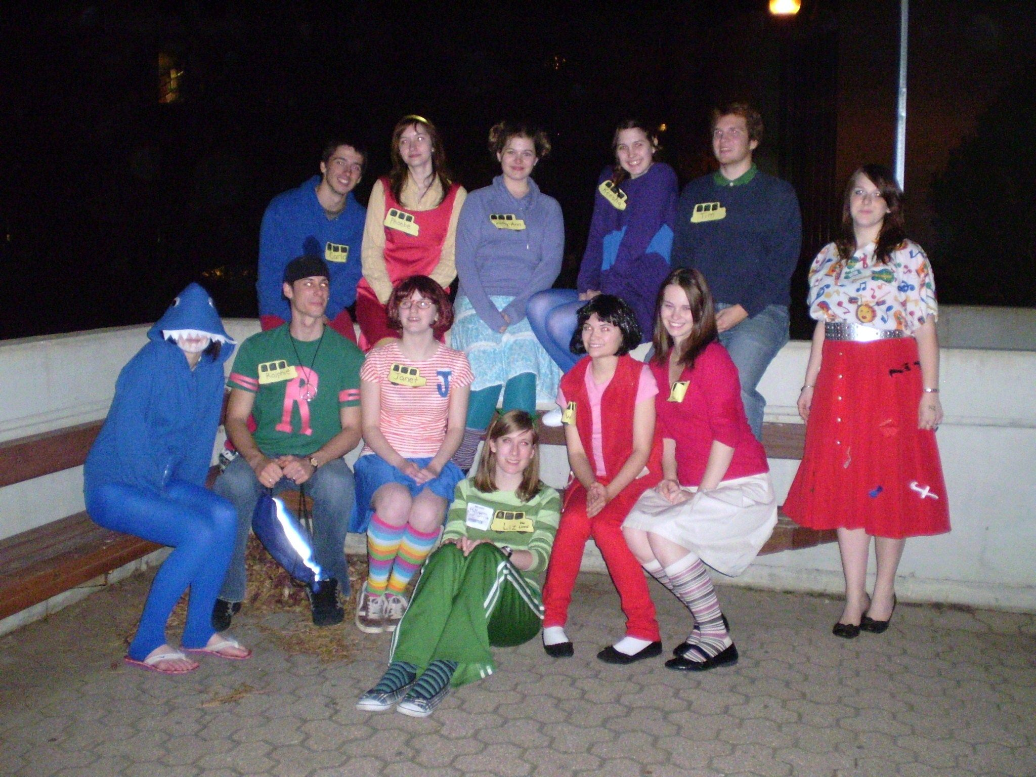 attend the bums halloween social with sweet costumes ex the magic school bus great group costume idea for university students - Halloween Social Ideas