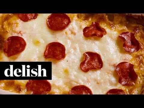 How To Make Pizza Cauliflower Casserole - Best Pizza Cauliflower Casserole Recipe