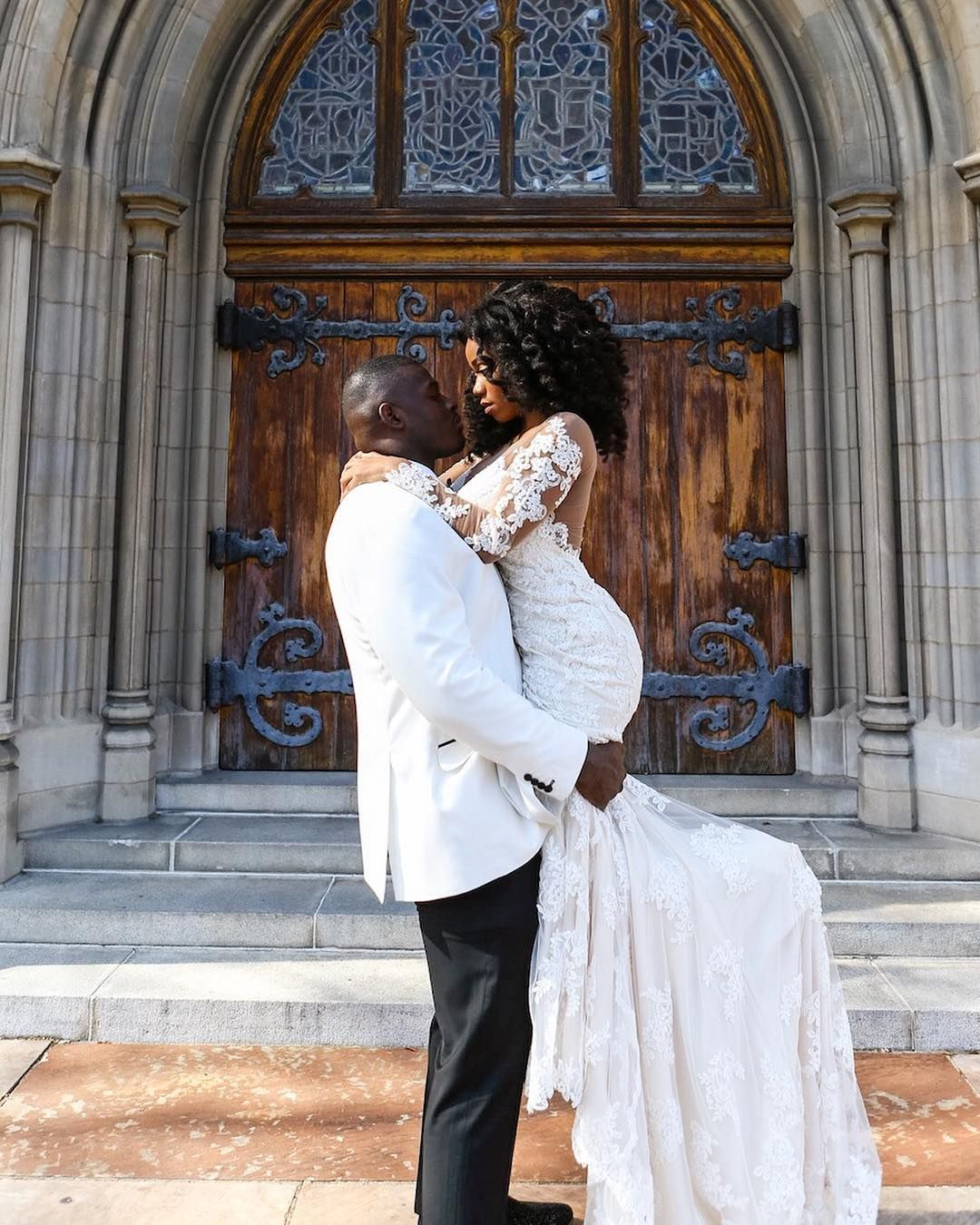 Gucci mane wife wedding dress  Bianca is an absolute QUEEN Bianca and Jamesu love story is one our