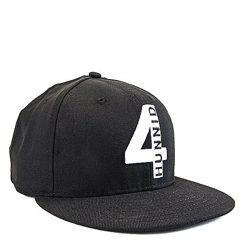 Buy Men's 4 Hunnid Snapback Black Online. Find more men's snapback, fitted, and New Era caps at ShiekhShoes.com,