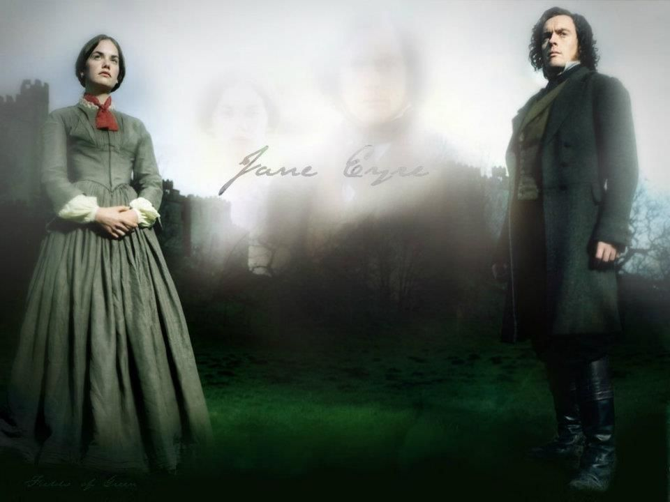 Toby Stephens (Mr. Edward Fairfax Rochester) & Ruth Wilson (Jane Eyre) - Jane Eyre directed by Susanna White (TV Mini-Series, BBC, 2006) #charlottebronte