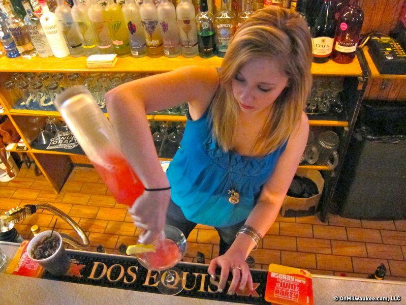 Lisa Simonson of Mark's Sports Pub Sports pub, Pub