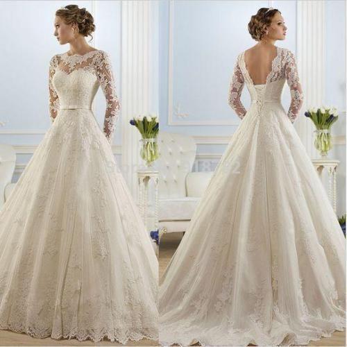 6----18 2020 White Ivory Lace Mermaid Wedding Dress Bridal Bridesmaid Gown Size