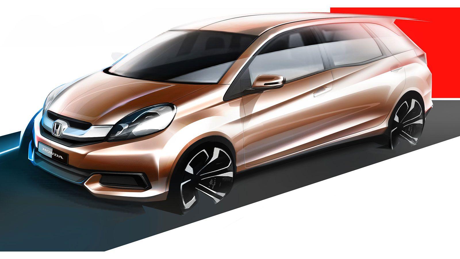 Honda Mpv Design Sketch Transportation Design Car Design Design Sketch