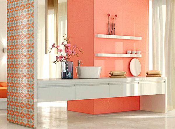 Le carrelage mural pour la salle de bain le style et la Carrelage mural pour wc
