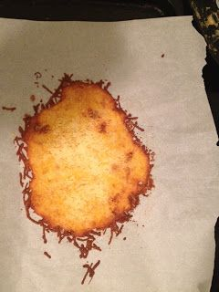 Bariatric Foodie: Baked Cheese Crisps