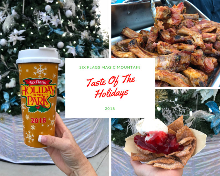 Elevate Your Family Fun At Holiday In The Park At Six Flags Magic Mountain Family Review Guide Six Flags Holiday Family Fun