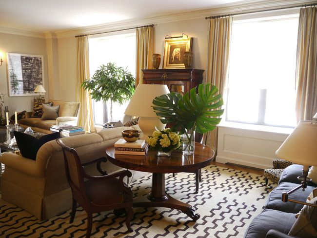 A Classic New York Living Room Furniture Placement 101 The Work Of Richard Mervis