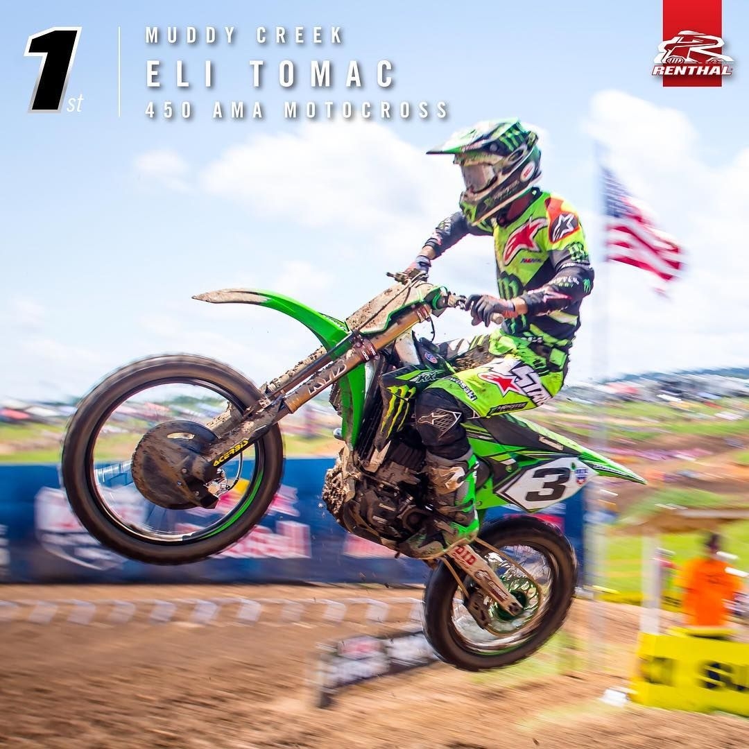 Elitomac Was Victorious In Muddy Creek This Weekend Motocross Renthal Webuildchampionships Ama Motocross Motocross Motorcross