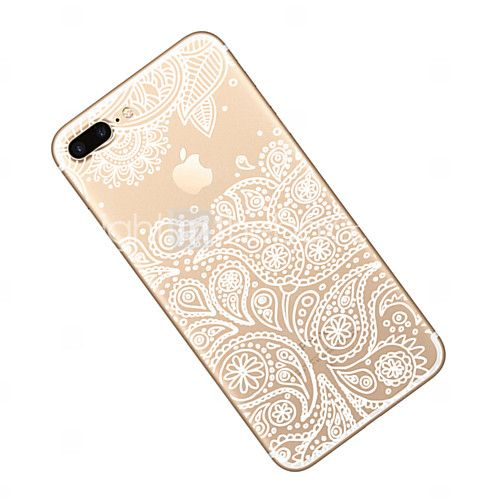 728cf4f0513 Para Ultrafina / Transparente / Diseños Funda Cubierta Trasera Funda Logo  Playing With Apple Suave TPU AppleiPhone 7 Plus / iPhone 7 / 2017 - €3.91