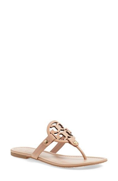 68faf3b35088b9 Free shipping and returns on Tory Burch  Miller  Flip Flop (Women) at  Nordstrom.com. A breezy