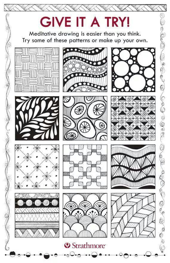 Meditation drawing line design pattern designs jane oliver also best zentangle images charts patterns drawings rh pinterest