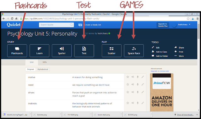 Use Quizlet for Quick Vocabulary Reviews Leah Cleary