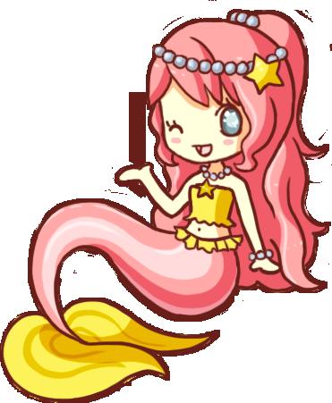 Bisou Mermaid by LVStarlitSky