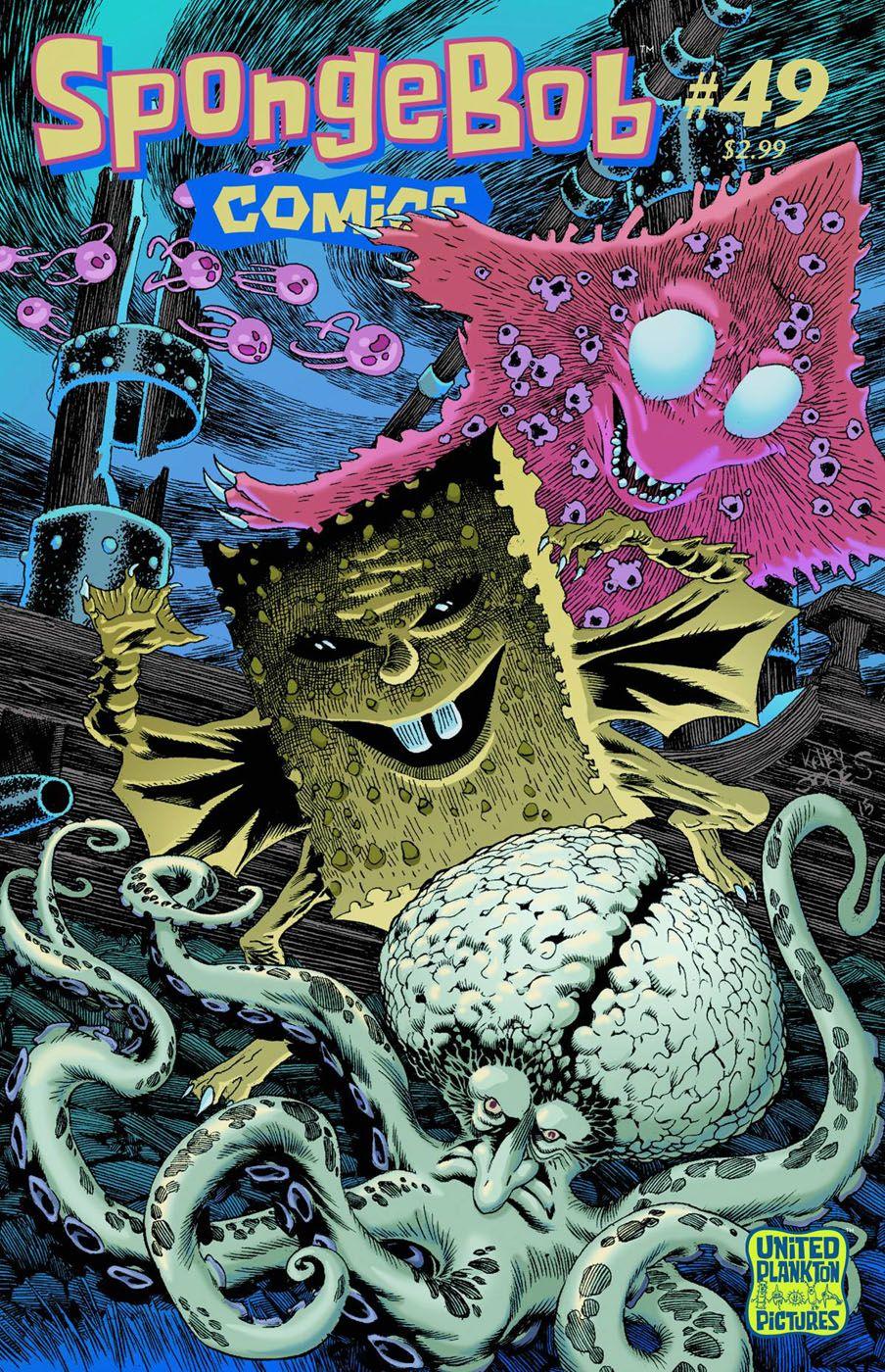 50 best comic covers of 2015 spongebob comics fun