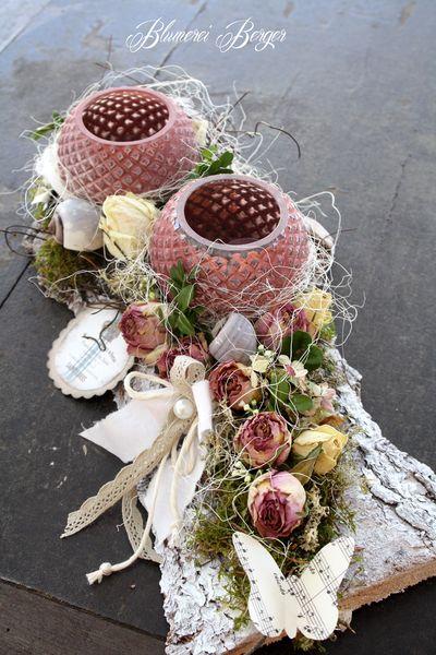 Tischdeko Rosenliebe Von Blumerei Berger