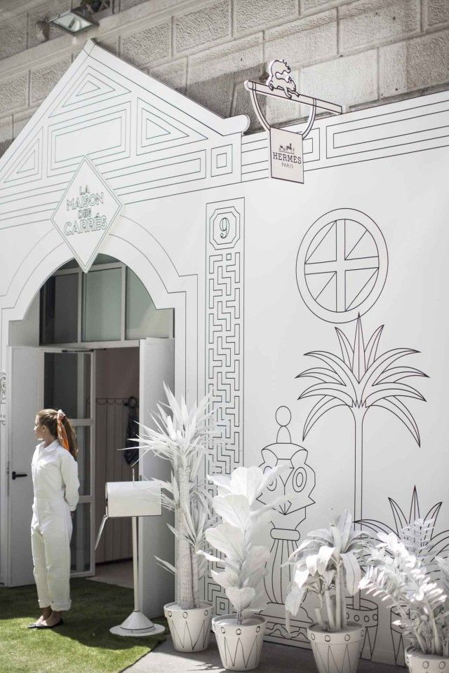White and illustrations one of our favourites design - La maison barcelona ...