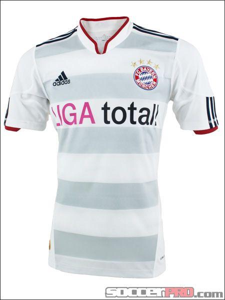 the latest ff8f1 742e4 adidas Bayern Munich Away Jersey 2010-2012...$62.99   Soccer ...