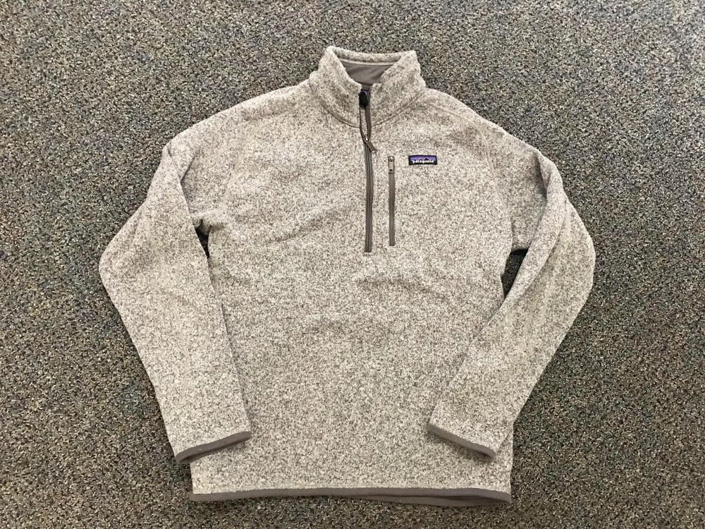 Patagonia Mens Better Sweater 14 Zip Fleece Pullover Jacket L