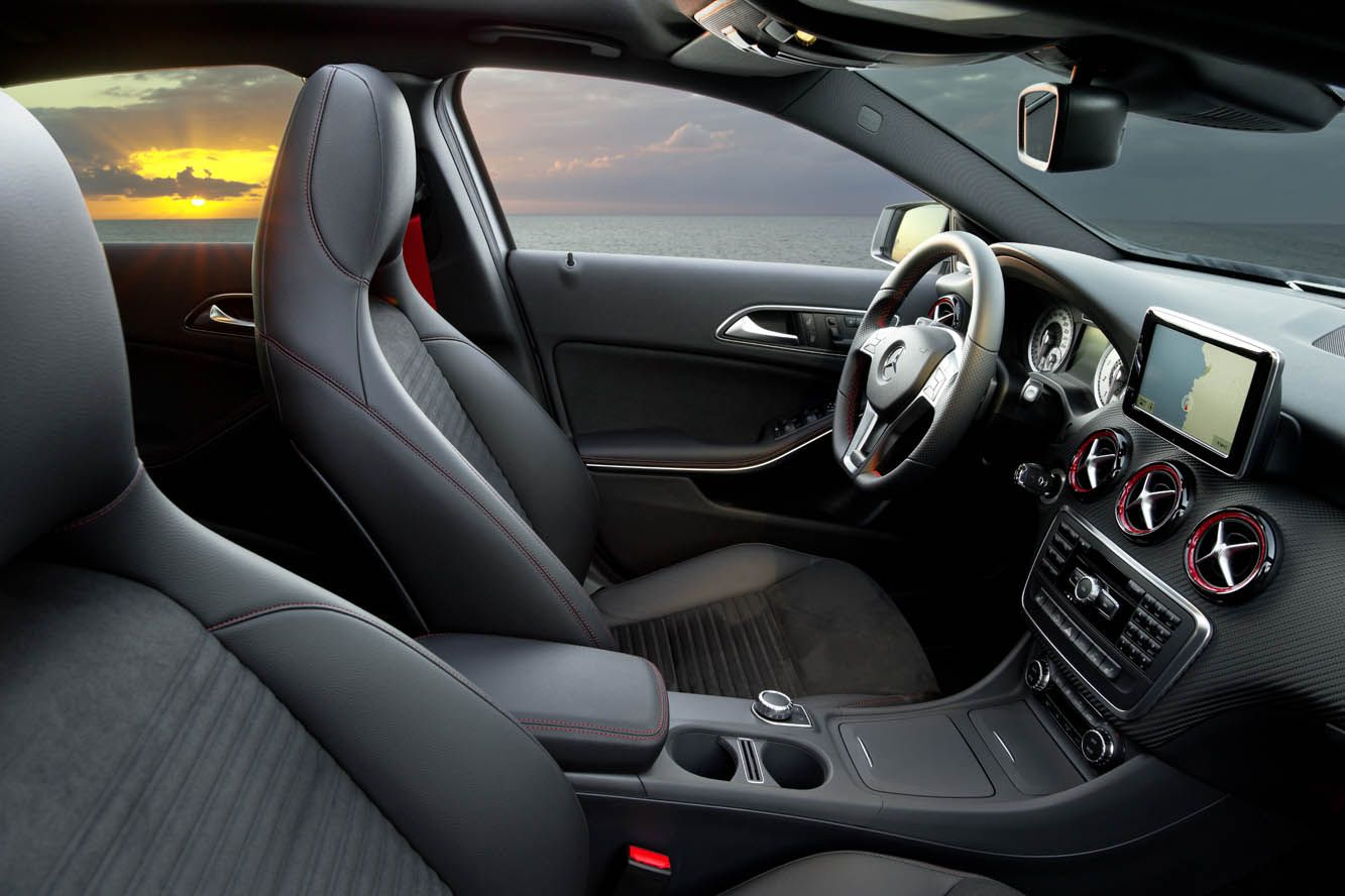 Interieur mercedes  Photo Mercedes Classe A AMG Interieur | Mercedes - Maybach - AMG ...