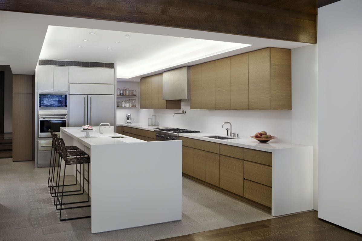 West village townhouse nyc by david howell architects kitchen