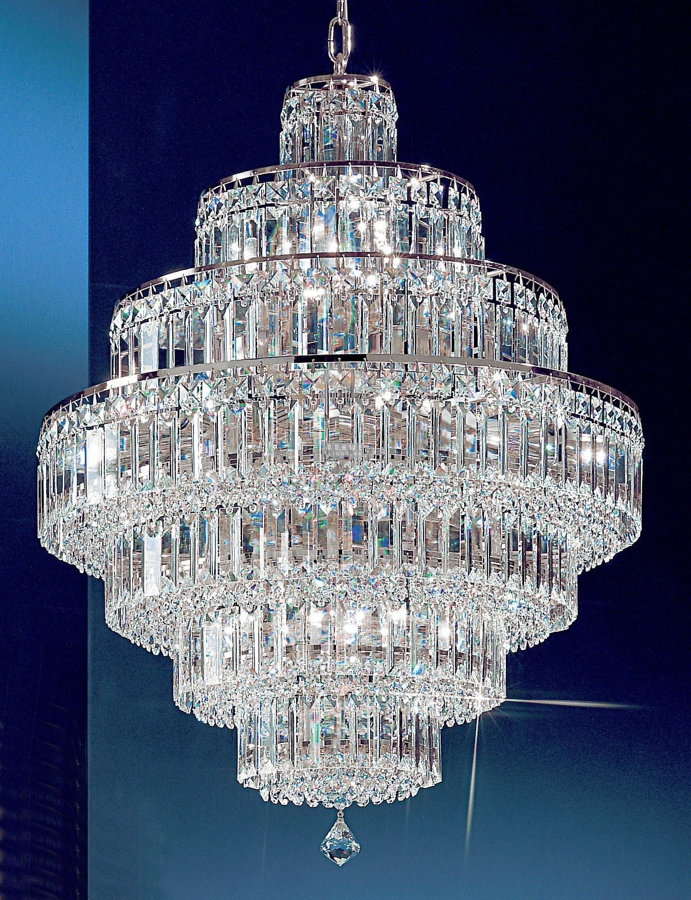 15 Lights crystal chandelier with crystalique plus crystal and