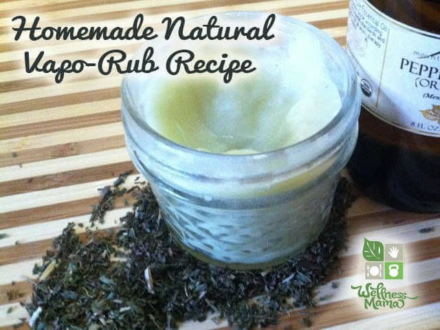 How To Make A Natural Diy Vapor Rub Wellness Mama Rub Recipes