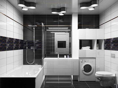 Genial Black Tile Bathroom | 26 Magical Bathroom Tile Design Ideas | CreativeFan