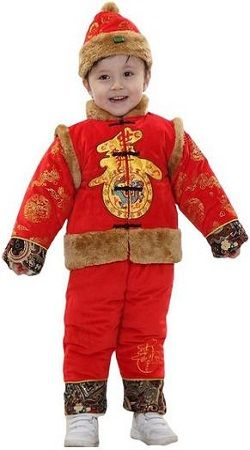 4bfb36c8a Ava Costume Little Boy's Chinese Traditional Clothing Tang Suit Costume
