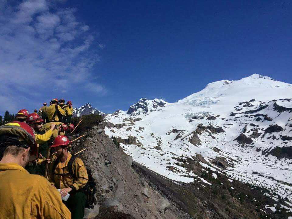 Baker River Hotshots on Mt. Baker | Natural landmarks, Landmarks