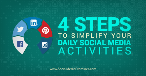 Do you engage with your audience on multiple social platforms?  Do you want to work more efficiently?  Focusing your efforts on the social channels and engagement signals that are most beneficial to your business can save you time.  In this article you'll discover how to create a social media to-do list in four steps.