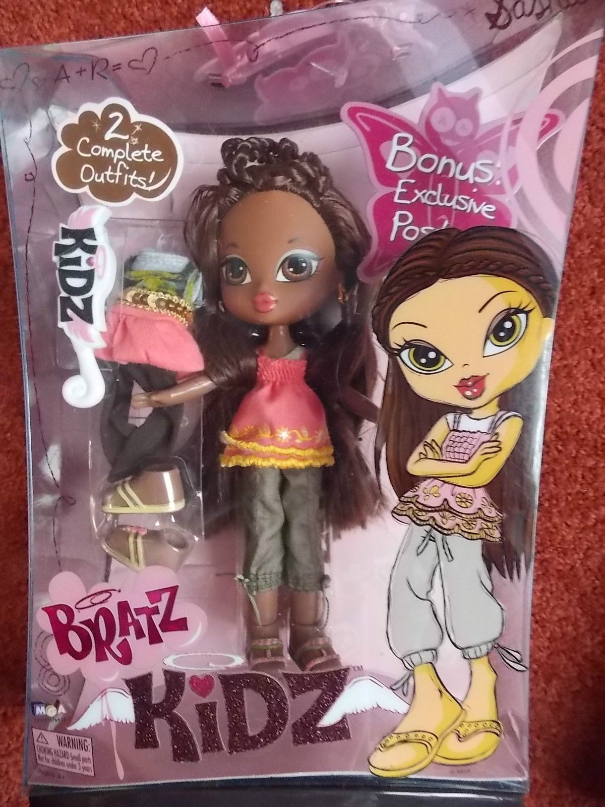 BRATZ Kidz School Time Fashion Pack Outfit Sasha Doll Clothes /& Accessories