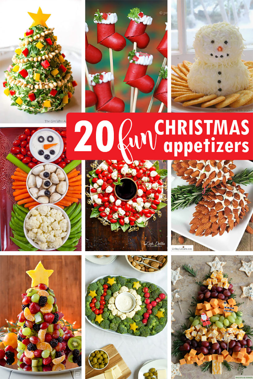 Christmas Appetizers 20 Creative And Fun Holiday Appetizers In 2020 Creative Christmas Appetizers Christmas Appetizers Best Christmas Appetizers