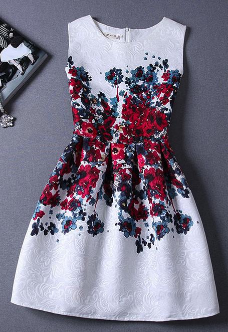 El look de moda del primavera verano 2019: Vestidos estampados y cómo combinarlos - #2019 #combinarlos #como #de #del #el #estampados #Look #moda #primavera #verano #vestidos #Y