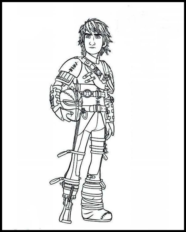 Train Your Dragon Coloring Pages