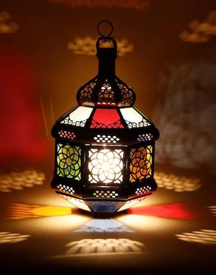 Multi Colour Small Table Lamp 85 38cm High Ryan Home Pinterest