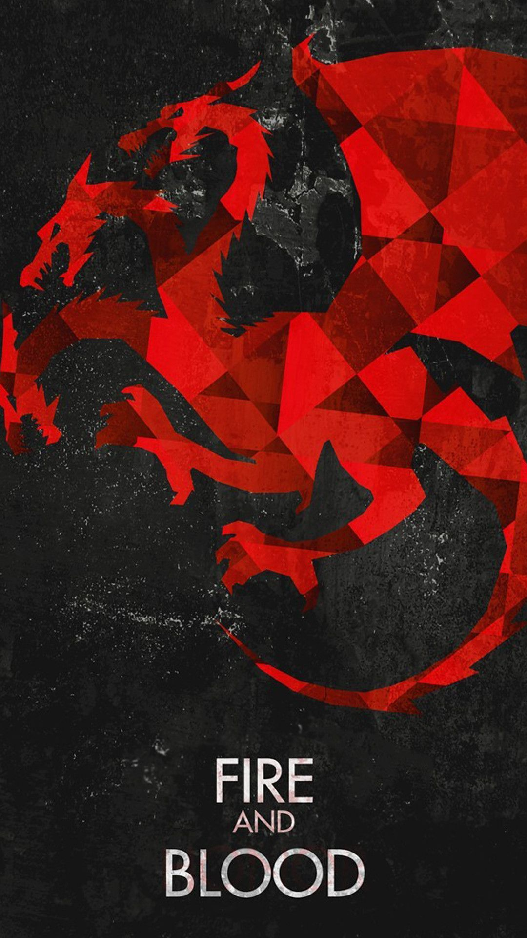 1080x1920 Fire And Blood Game Of Thrones House Targaryen