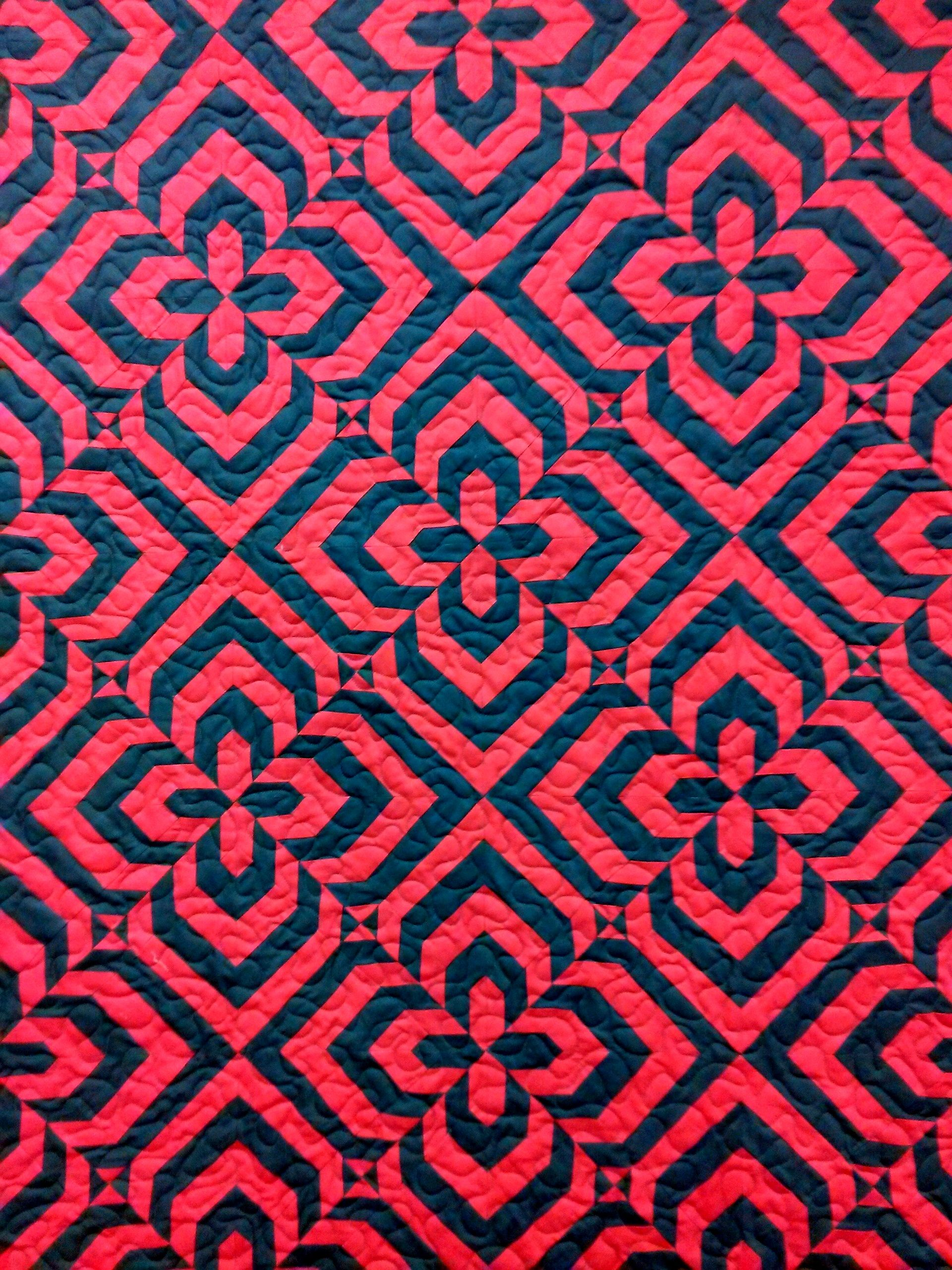 Quiltique quilt store in Henderson, NV, had a dark gray and red ... : quilt stores in las vegas nv - Adamdwight.com