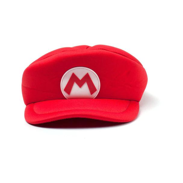 Nintendo Super Mario Bros Kids Mario Logo Curved Hat Red Hay100506ntn Hay100506ntn Mario Cap Super Mario Hat Mario Hat